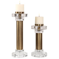 Leslie 19 X 6 inch Candleholders, Set of 2