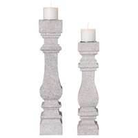 Uttermost 18653 Adley 23 X 5 inch Candleholders, Set of 2