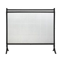 Tate 35 X 33 inch Fireplace Screen, Jim Parsons
