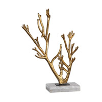 Golden Coral 17 X 11 inch Sculpture, Jim Parsons