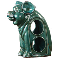 Uttermost 18757 Oink Jade Green Crackle Wine Holder 18757-A.jpg thumb