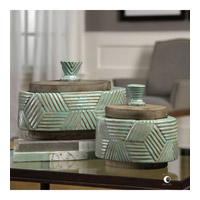 Ruth 12 inch Light Gray Glaze Boxes