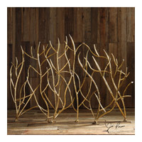 Gold Branches 48 X 32 inch Fireplace Screen