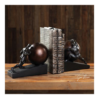 Weight of the World 9 inch Aged Black Bookends