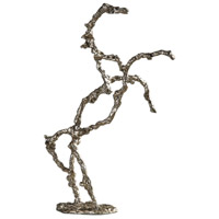 Rearing Stallion Silver Champagne Sculpture