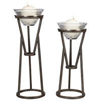 Uttermost 18980 Lane 20 X 7 inch Candleholders, Set of 2