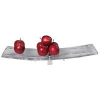 Uttermost 18997 Mika Clear Art Glass and Brushed Nickel Tray 18997_A1.jpg thumb