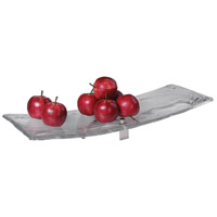 Uttermost 18997 Mika Clear Art Glass and Brushed Nickel Tray 18997_A2.jpg thumb