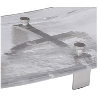 Uttermost 18997 Mika Clear Art Glass and Brushed Nickel Tray 18997_A3.jpg thumb