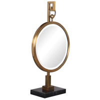 Uttermost 18999 Nori Brushed Bronze and Black Marble Tabletop Mirror 18999_A.jpg thumb