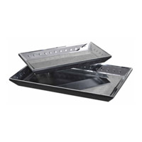 Alanna Beveled Mirror Trays