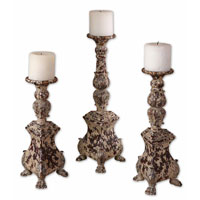 Uttermost 19304 Salerno 18 X 6 inch Candleholders thumb