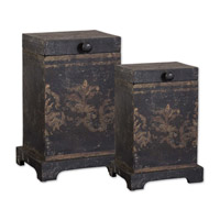 Uttermost Melani Boxes Set of 2 Home Accessory in Plantation Grown Mango 19320