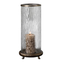 Uttermost Tomi Candleholder Home Accessory in Antiqued Champagne Silver 19433 photo thumbnail
