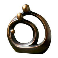 Uttermost Family Circles Home Accessory in Bronze Patina 19439