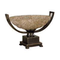 Uttermost 19490 Crystal Palace Centerpiece Hand Rubbed Oil Bronze Patina Home Accessory