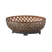 Uttermost Teneh Bowl in Copper Bronze 19539