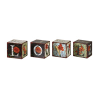 Uttermost Love Letters Set of 4 Accessories 19540