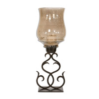 Uttermost Sorel Candleholder Home Accessory in Antiqued Bronze Metal 19562