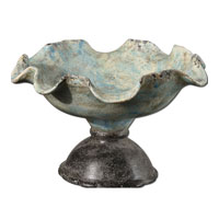 Uttermost Alei Bowl in Distressed Crackled Light Blue 19707