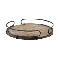 Uttermost 19727 Acela Natural Fir Wood Tray