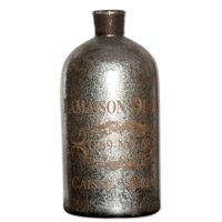 Uttermost Lamaison Bottle in Mercury Glass 19752