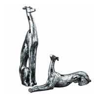 Uttermost Resting Greyhounds Set of 2 Statue 19780