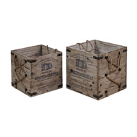 Uttermost 19782 Bouchard Crates