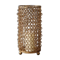Uttermost Dipal Candleholder in Gold 19806
