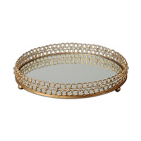 Uttermost Dipali Mirrored Tray in Mirrored 19807