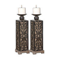 Uttermost Abelardo Set of 2 Candleholders 19817