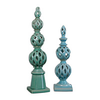 Uttermost Berilo Set of 2 Finials 19834