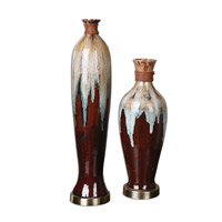 Uttermost Aegis Set of 2 Vases 19844