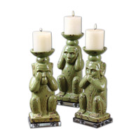 Uttermost Toma Set of 3 Candleholders 19864