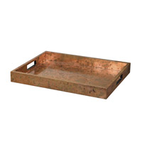Uttermost 19871 Ambrosia Copper Tray