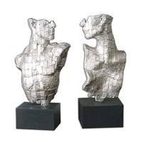 Uttermost Eros Sculpture in Silver Leaf 19887