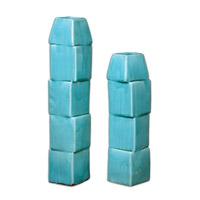 Uttermost Nilima Ceramic Set of 2 Vases 19891