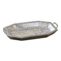 Uttermost Mirte Tray in Aged Stone 19904