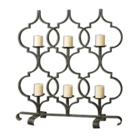 Uttermost Zakaria Candelabra in Hand Forged Metal 19913