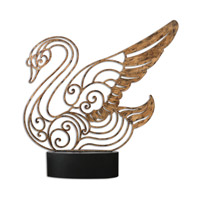 Uttermost 19938 Resting Swan 27 X 26 inch Sculpture photo thumbnail