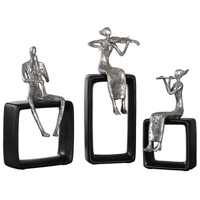Musical Ensemble Silver Plated Musical Ensemble Statues