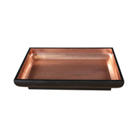 Uttermost Aksel Bowl in Copper Foil/Matte Black 20101