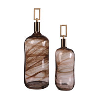 Uttermost Ginevra Bottle in Warm Bronze 20126