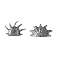 Uttermost Marine Mollusc Sculpture in Bright Silver 20138