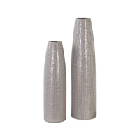 Uttermost Sara Vase in Pale Taupe 20156
