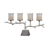 Uttermost Branch Candelabra in Silver 20165