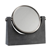 Uttermost Anatolio Mirror in Light Charcoal 20166