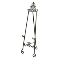 Uttermost Idalee Easel Home Accessory in Lightly Distressed Black 20632