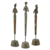 Uttermost 20706 Three Lady Musicians 22 X 4 inch Sculptures photo thumbnail