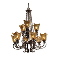 Uttermost 21005 Vetraio 9 Light 31 inch Oil Rubbed Bronze Chandelier Ceiling Light